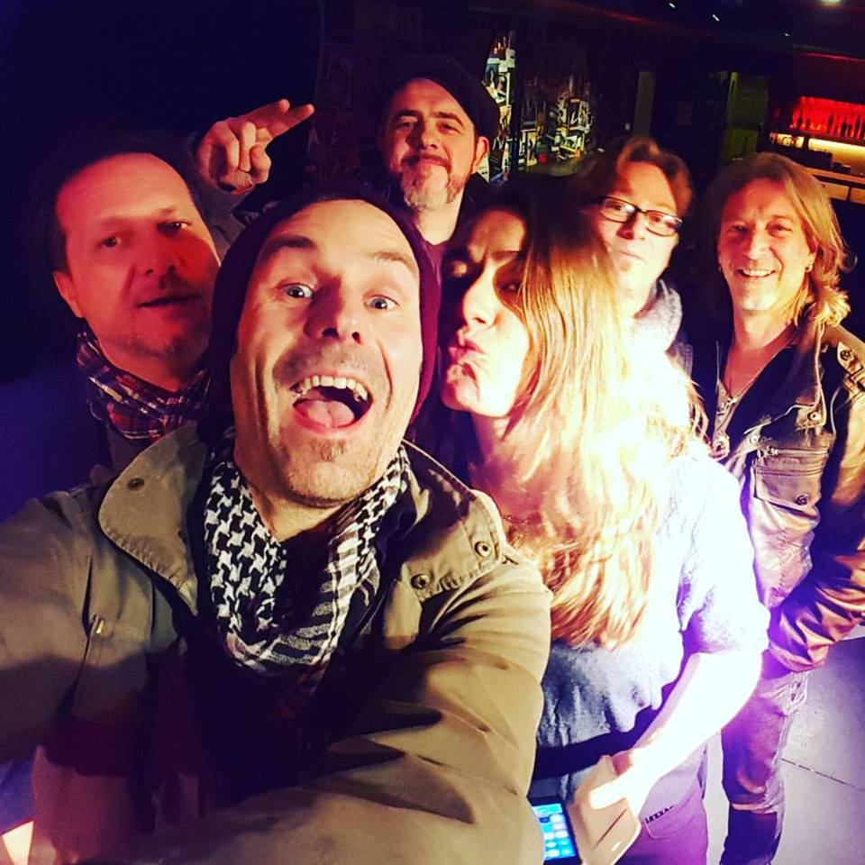 Last gig selfie at Dampfschiff, Brugg, Switzerland March 2016